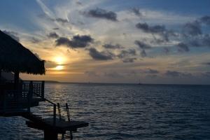 Amazing Sunset in Bora Bora