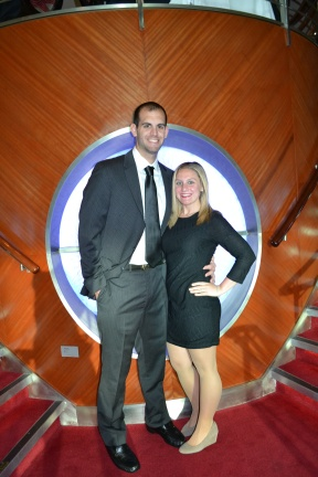 My wife & I at Formal Night on Celebrity Millennium Alaskan Cruise - June 2014