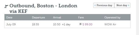 $99 to London One Way!!