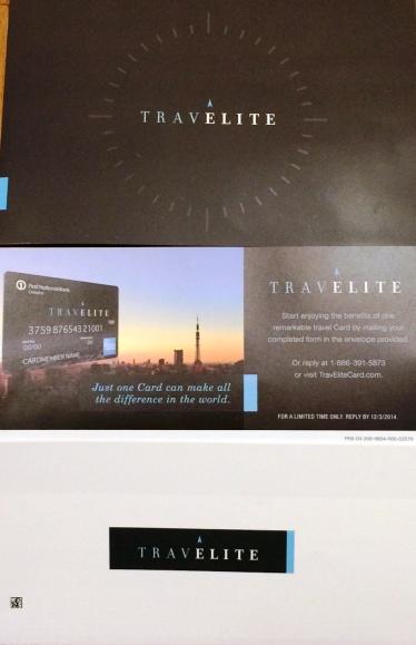 TravElite Card Mailer