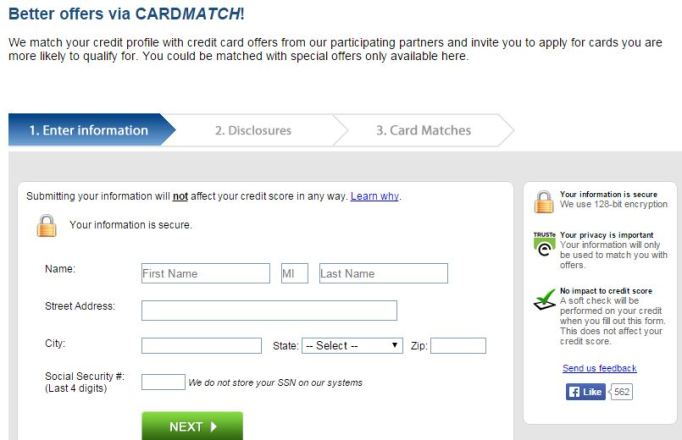 The CardMatch Tool