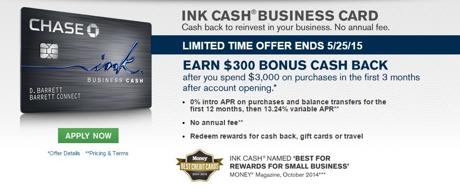 Chase Ink Cash Signup Bonus Increased to 30 000 Ultimate