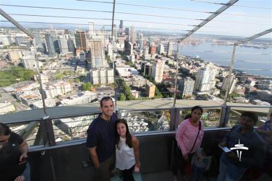 Touristy Photo at the Space Needle