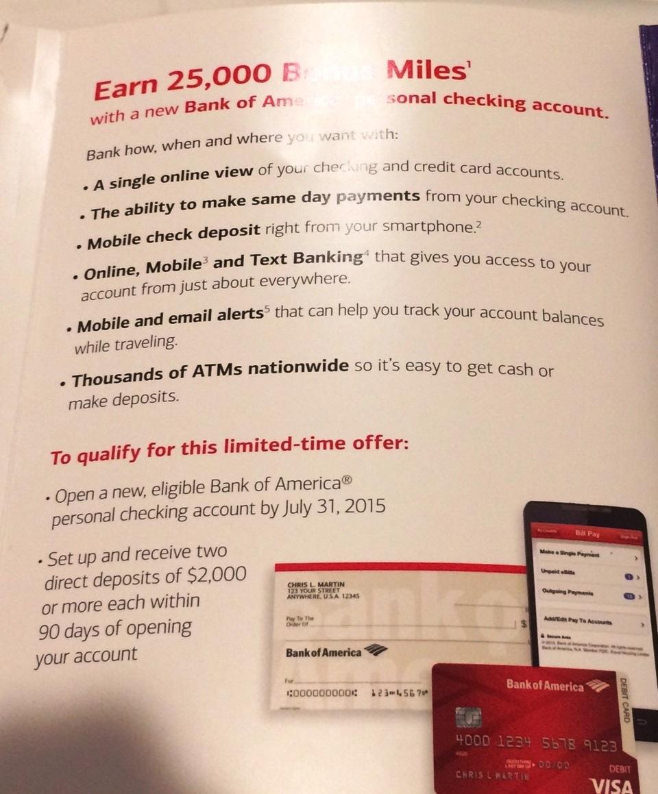 Bank of america 1099
