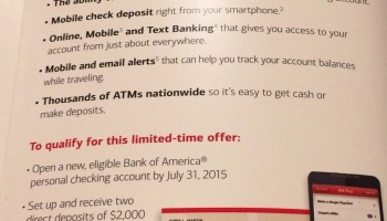 Psa Bank Of America Issues 1099 Int Forms For Bank Bonuses That