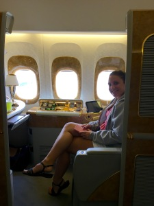 First Class on 777-300ER