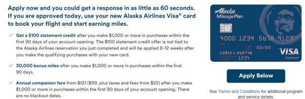 Alaska Personal Offer