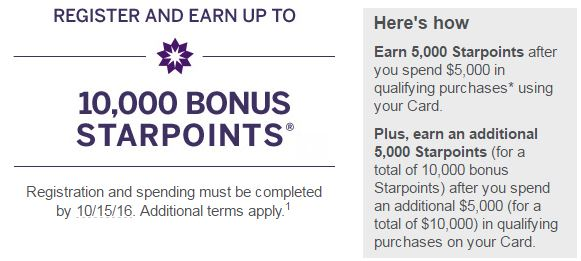 SPG Spend Offer