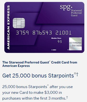 as i blogged about earlier this week the signup bonus changed on the american express starwood cards to two free nights valid at a category 1 to 5 hotel - Spg Business Card