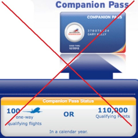 No More Easy Companion Pass